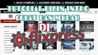 TUTORIAL BUAT  INTRO MUDAH DI FLIXPRESS