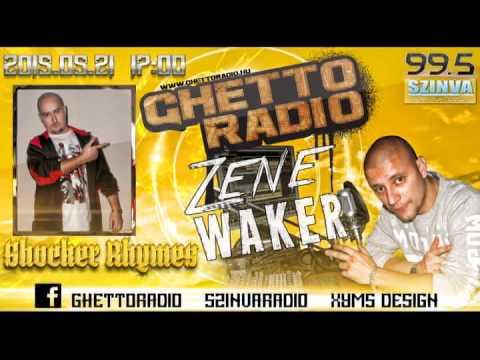 Ghetto Radio 2015 - Shocker Rhymes Interjú (05.21) @ Szinva Rádió Miskolc