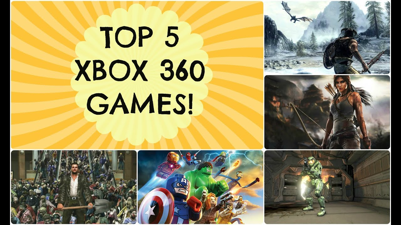 Top Xbox 360 Games : My top xbox games youtube
