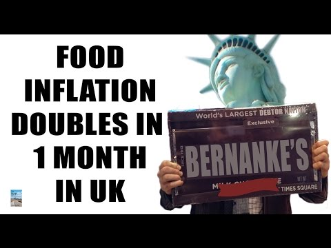 Food Inflation in UK Doubles in a SINGLE MONTH! More Clashes Erupt in Italy!
