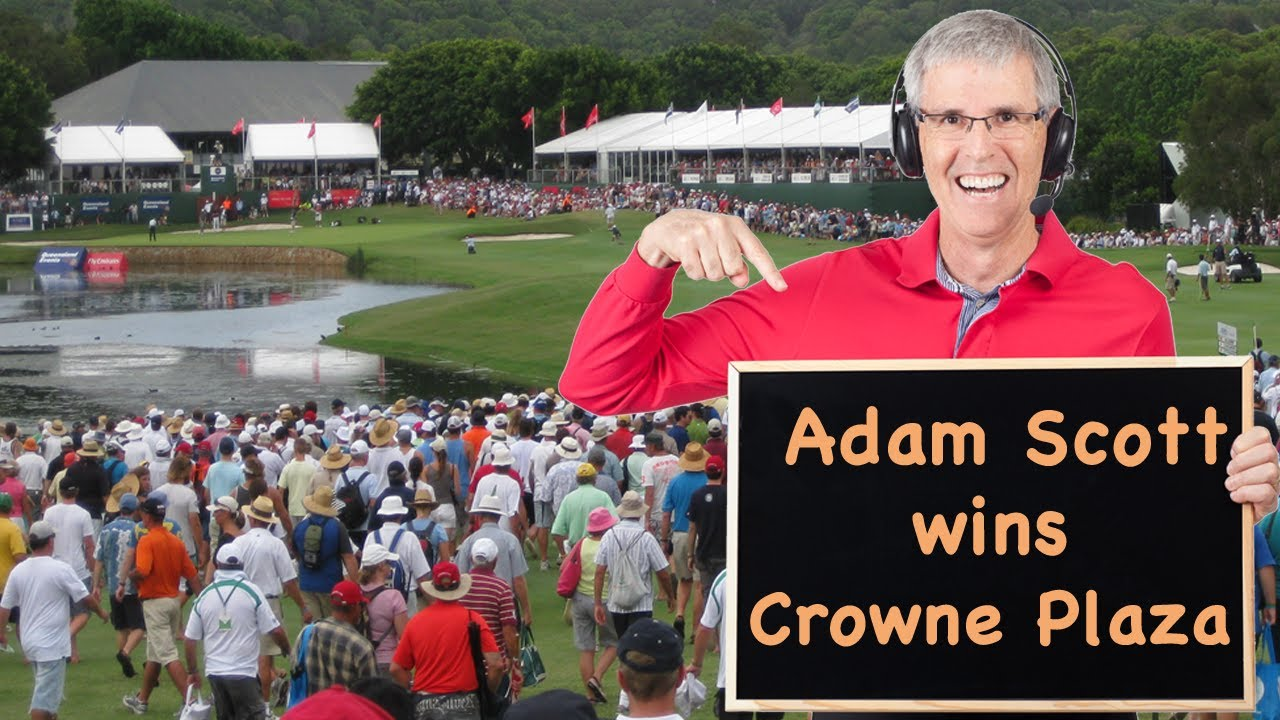 Adam Scott wins Crowne Plaza Invitational