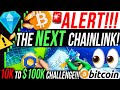 THE NEXT 1000X CHAINLINK COMPETITOR!! $10K TO $100K ALTCOIN TRADING CHALLENGE!! CRYPTO NEWS