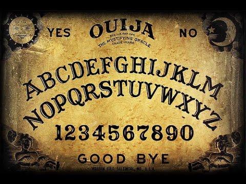 How to make a homemade ouija board that should work youtube - La tavola di ouija ...
