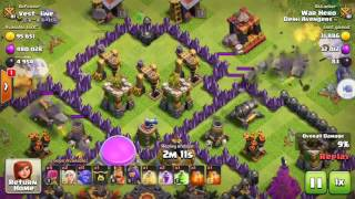 Mini Max Mass Bowlers Attack With 220 Army Capacity|Clash Of Clans