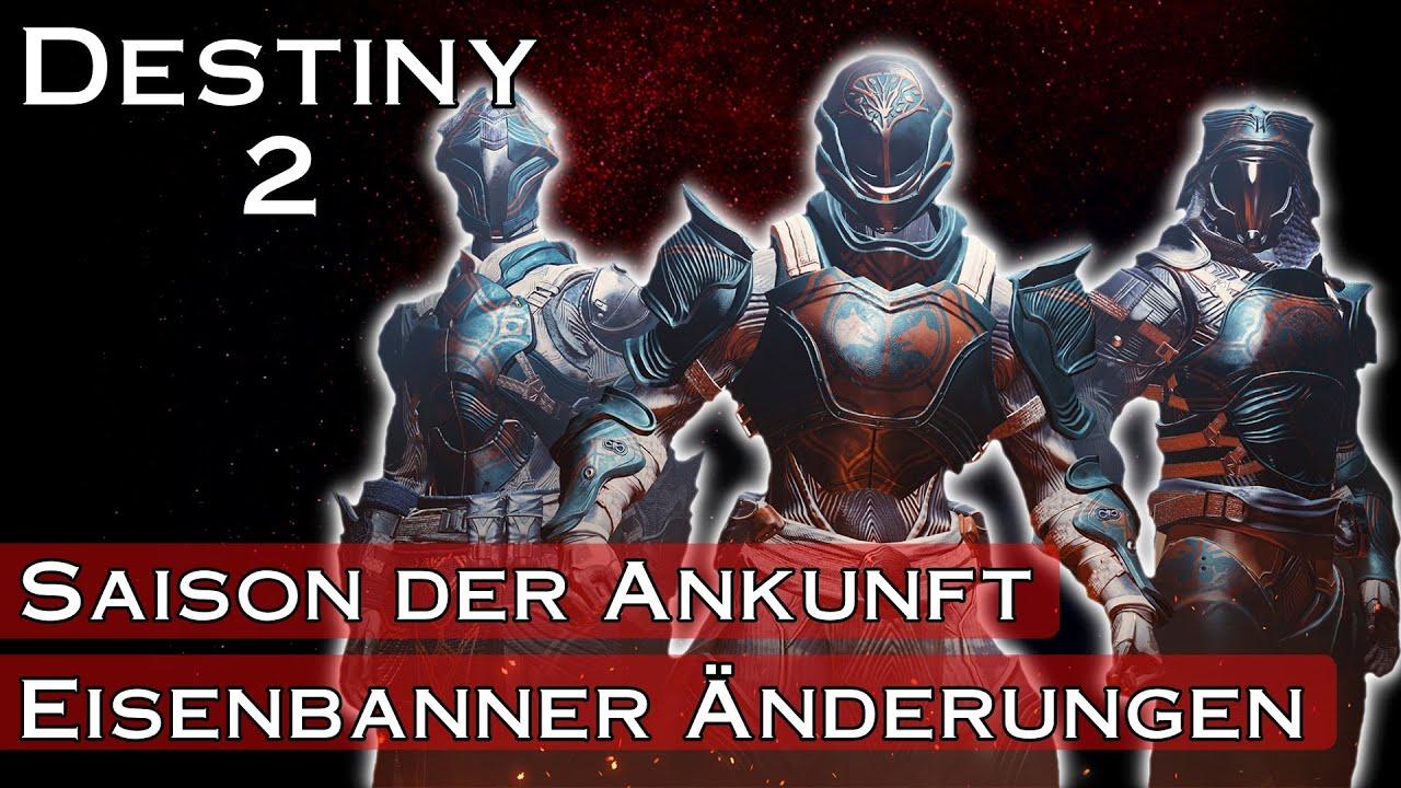 Eisenbanner Änderungen - Saison der Ankunft - Destiny 2 Shadowkeep | anima mea