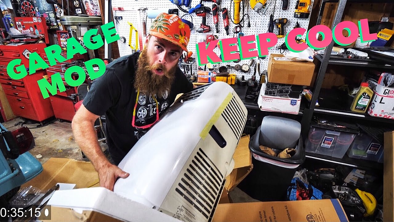 HOW TO KEEP COOL IN THE GARAGE NewAir AC-14100E Portable ...