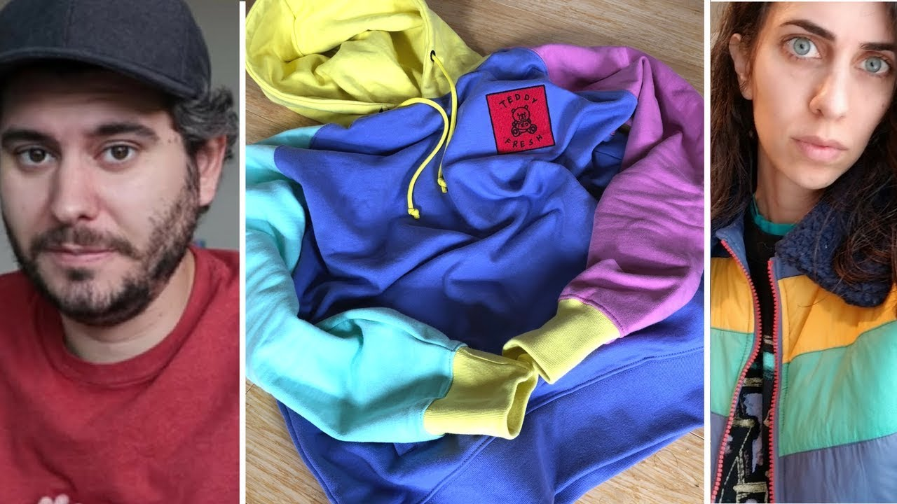 7e4721975ae1c Teddy Fresh Color Block Hoodie Review and Unboxing - Hypebeast History