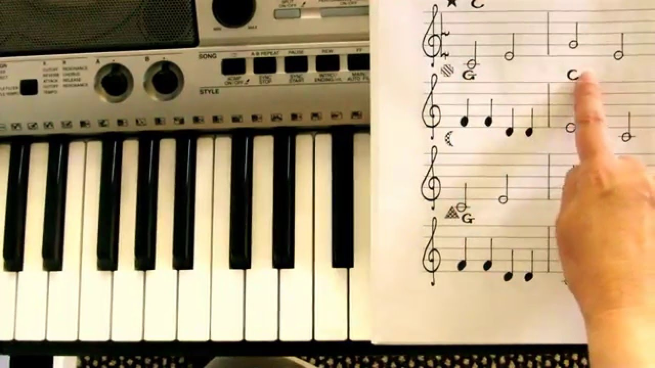 how to play piano with left hand