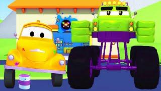 Малярная Мастерская Тома - Марли - Халк - Автомобильный Город 🎨 детский мультфильм