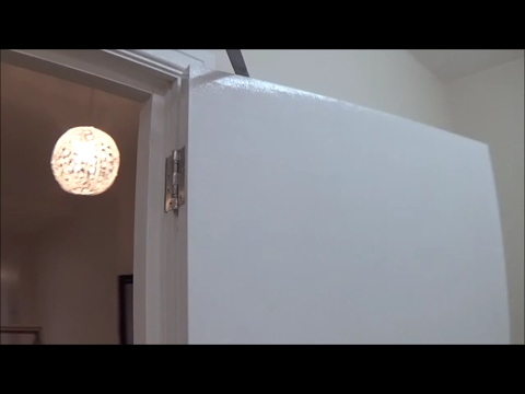 Part 2 Glossing Flush Door Water Based Gloss & Part 2 Glossing Flush Door Water Based Gloss - YouTube