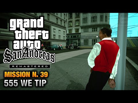 GTA San Andreas Remastered Mission #39 555 WE TIP (Xbox 360 / PS3)