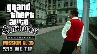 GTA San Andreas Remastered - Mission #39 - 555 WE TIP (Xbox 360 / PS3)