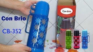 Термос Conbrio CB - 352 распаковка и обзор
