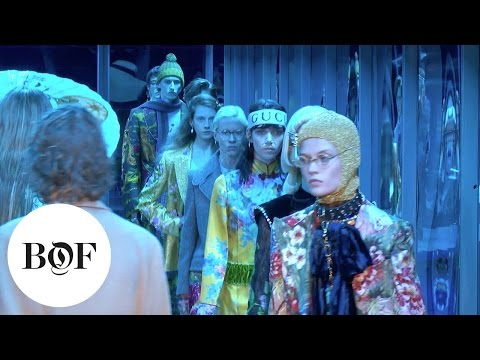 Gucci Autumn/Winter 2017 Show | Milan | The Business of Fashion