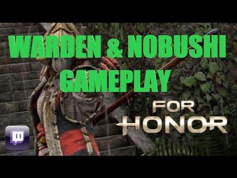 [TWITCH]FOR HONOR BETA-Warden & Nobushi (Full Games)