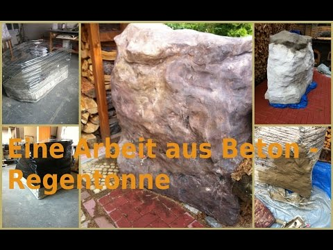 trollbrunnen aus beton von sonja ziemann doovi. Black Bedroom Furniture Sets. Home Design Ideas