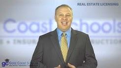 Florida Real Estate License Course Information
