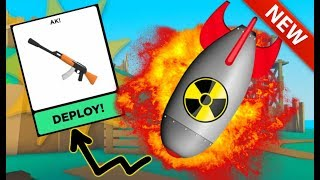 Gambar cover Getting the NUKE with the *NEW* AK + LEVELING! | Roblox Big Paintball