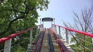 Legend Coaster POV (2014) - Arnolds Park - Arnolds Park, Iowa, USA