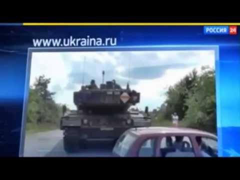 Russische Propaganda: Deutsche Panzer in der Ukraine?
