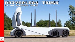 Einride T-Pod Autonomous Electric 26-Ton Truck Taking On Tesla Semi