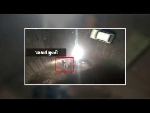 Rajkot : Car stunt goes wrong in 'Mot No Kuvo' in Gondal Fun Fair