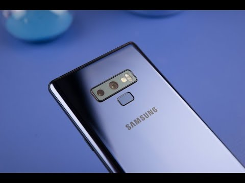 Galaxy Note 9 Ocean Blue Unboxing And First Impressions 2018