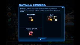 Jugando Batalla Heroica Dedpool vs Wolverine Temporada 2 Misión 4