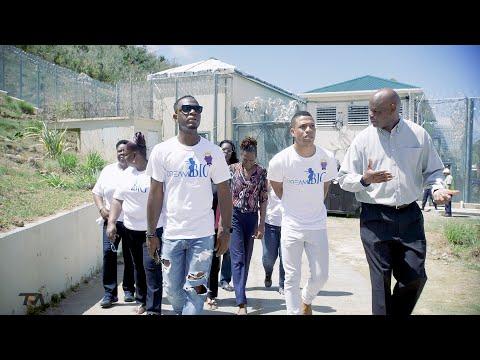 Dream Big Group BVI Motivational Prison Visit with Billionaire PA