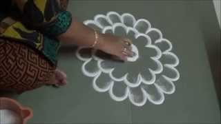 Easy Rangoli Designs by Kshama