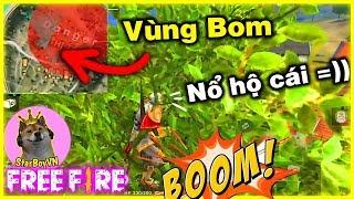 [Free Fire] Leo Lên Đọt Cây Trốn Vùng BOM Nổ Và Cái Kết 😂| StarBoyVN | Nonolive