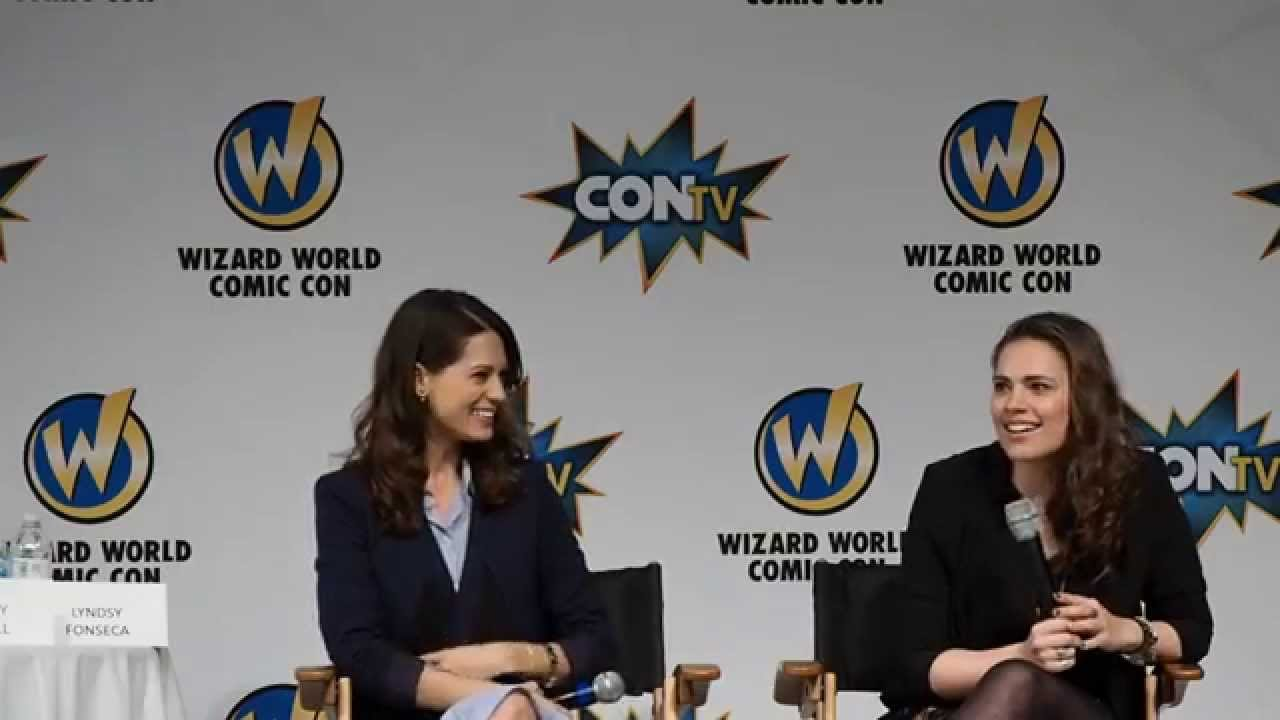 Hayley Atwell Totally Improvised Your Favorite Part of
