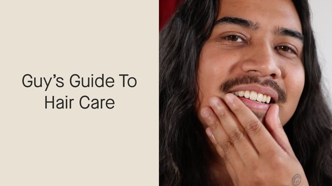 A Guy's Guide To Hair Care