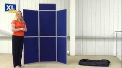Display Boards | Easyfold presentation and marketing folding display board system