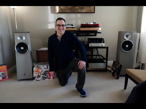 Meet Jeff, he has Zu speakers, a PrimaLuna pre, First Watt J2 amp     #audiophile