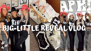 COLLEGE WEEK IN MY LIFE // biglittle reveal + baskets Alpha Phi Kent State
