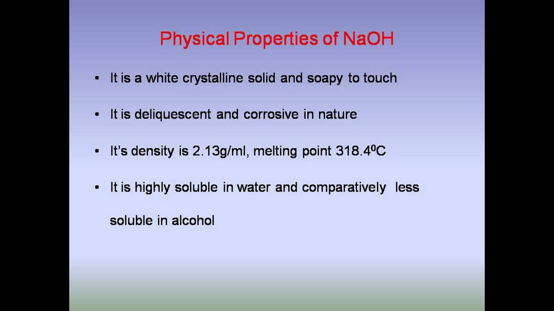 Chemical And Physical Properties For Copper