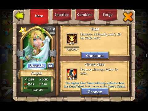 Castle Clash Spree #6! Immortep Vs. Siren(Shard Heroes)!!