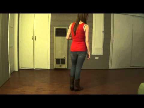 Electric Slide (Line Dance) - Demo & Teach
