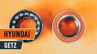 Comment changer Kit de roulement de roue HYUNDAI GETZ (TB) - video gratuit en ligne