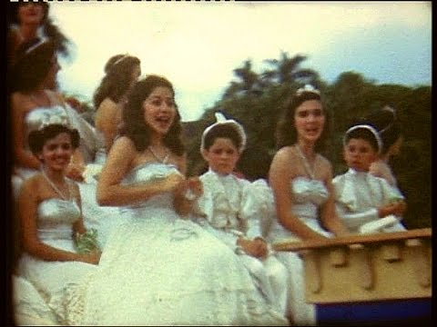 Panama Balbao parade in 1949
