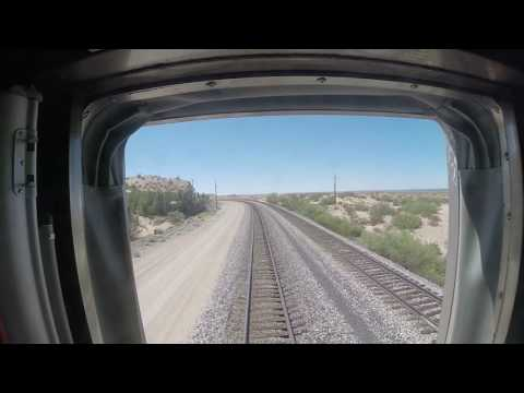 Amtrak Train #2 Sunset Limited Approaching El Paso