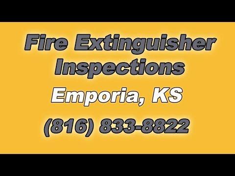 Fire Extinguisher Inspections Emporia KS
