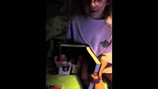 wwe 6 year old girl tells how foley lost ear