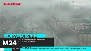 Смотреть видео Теплая погода вернулась в Москву - Москва 24 онлайн