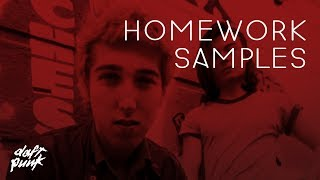 Daft Punk's Homework - The Samples