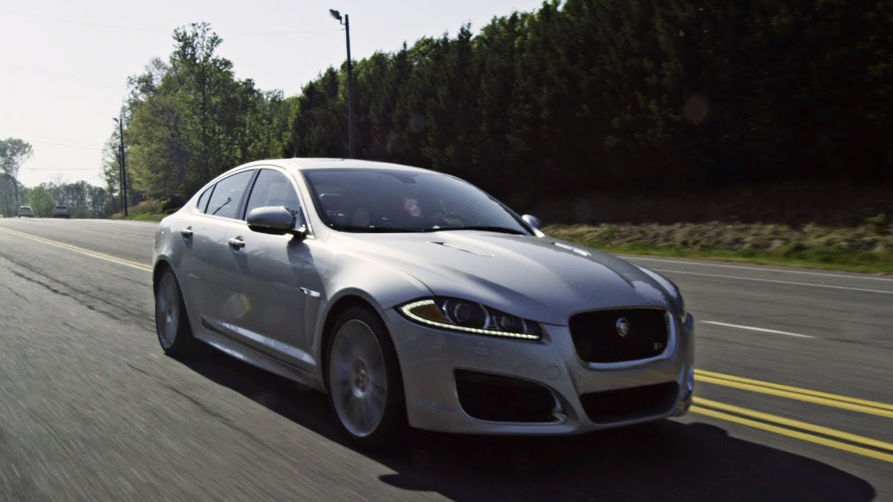 2012 Jaguar XF R Test Drive U0026 Review   YouTube