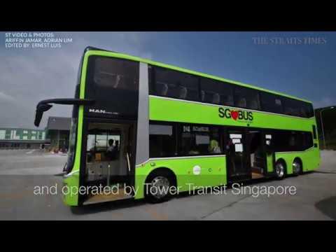 New 3door bus on trial by LTA