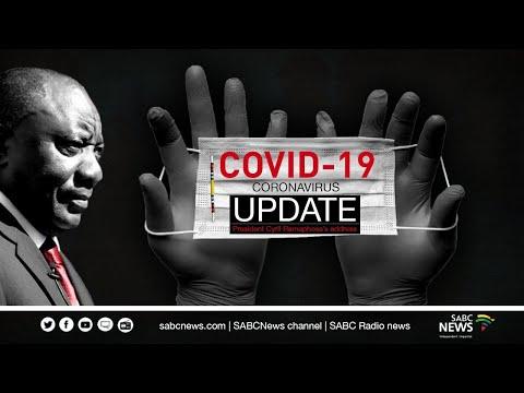 President Cyril Ramaphosa updates on COVID-19 Lockdown