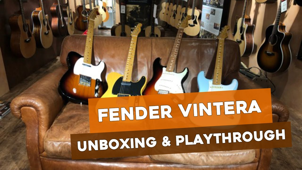 Fender Player Vs Vintera What Are The Differences Reidys Blog